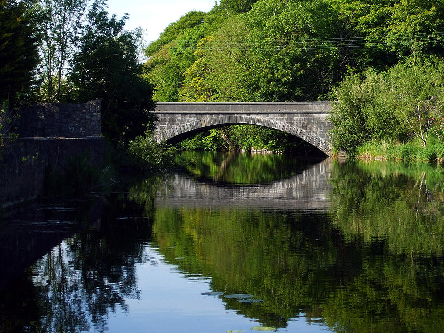 County Clare Photograph - Cusack Road Bridge Ennis by William Kilty
