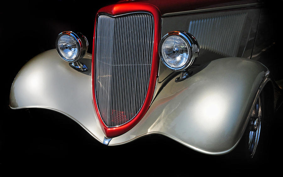 Custom Car Photograph - Custom Car by Dave Mills