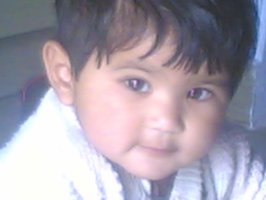 Baby Photograph - Cute Baby by Nikhil Maliwal