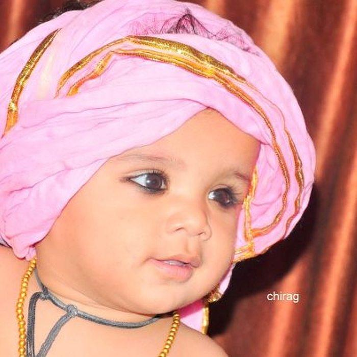 Cute Baby Photos Photograph - Cute Baby Photo by Chirag Arts