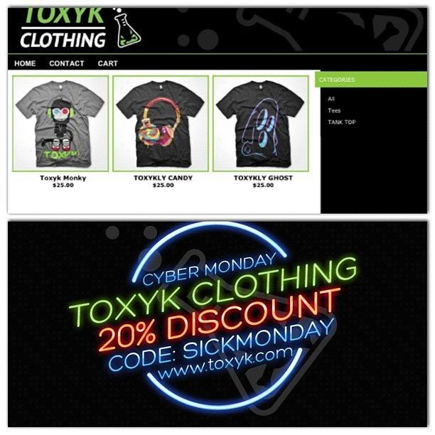 Cyber Monday Especial 20%off Code Photograph by Toxyk Clothing ™