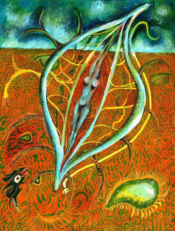 Dacian Dreamcatcher Painting