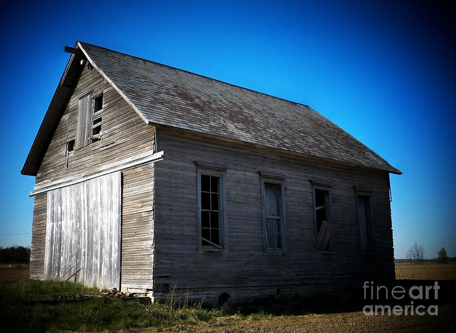 Schools Photograph - Daddys Old School House by Joyce Kimble Smith