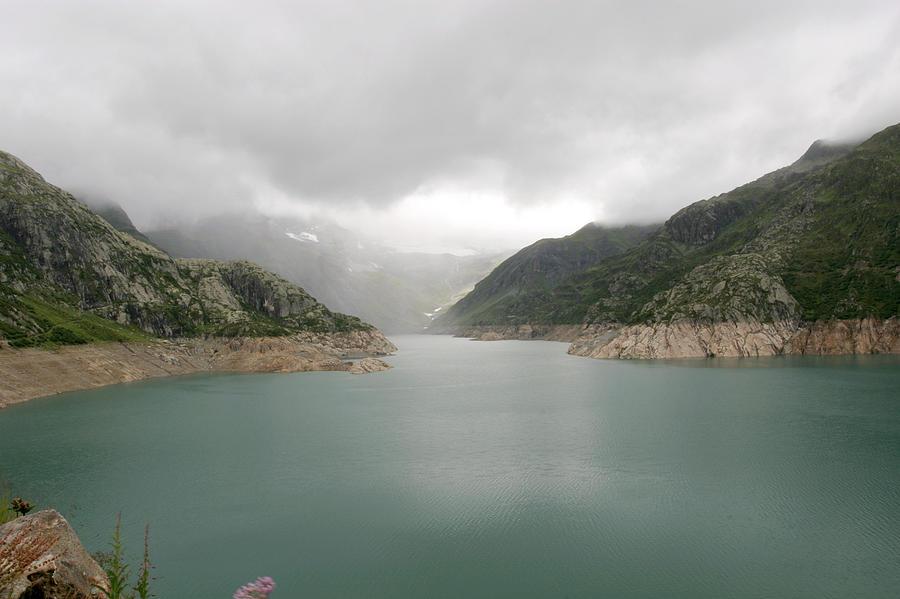 Reservoir Photograph - Dam Reservoir by Michael Szoenyi