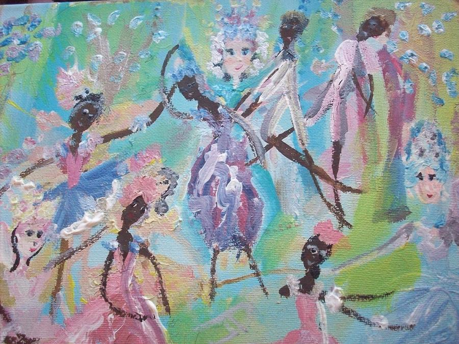 Panto Painting - Dame Harmony Pantomime by Judith Desrosiers