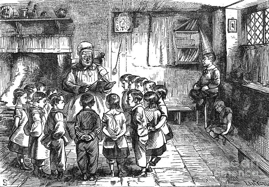 19th Century Photograph - Dames School by Granger