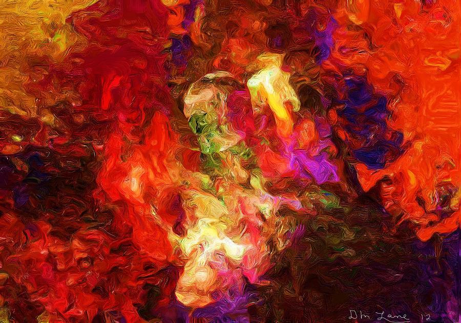 Abstract Digital Art - Damnation by David Lane