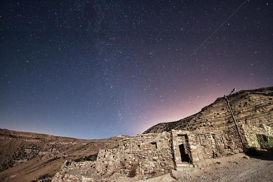Horizontal Photograph - Dana Nature Reserve. by Rayan Azhari - Email rayanazhari@gmail.com