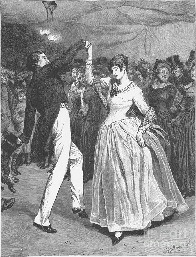 1886 Photograph - Dance, 19th Century by Granger