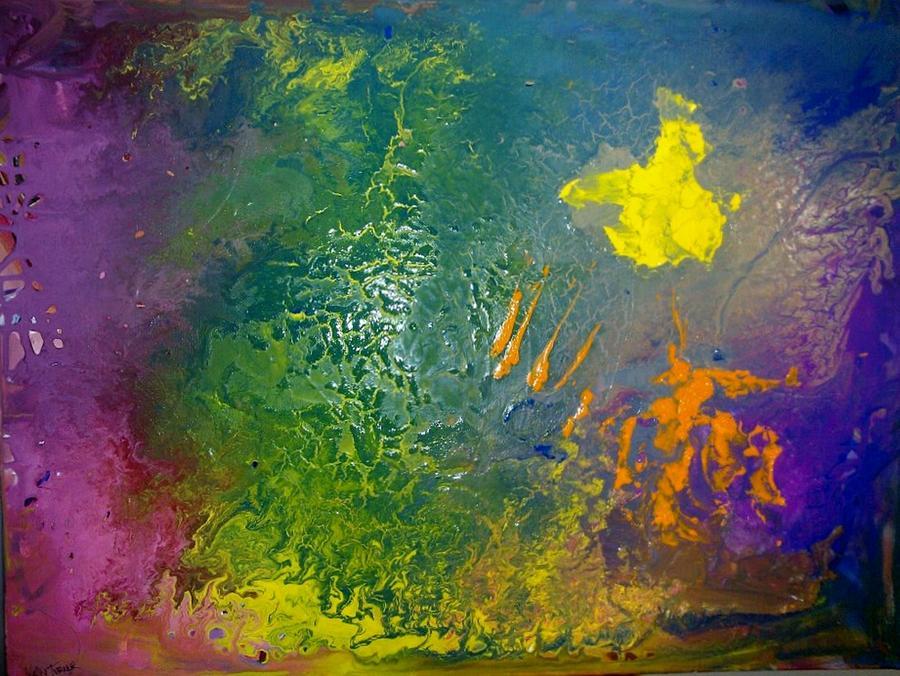 Symphony Painting - Dance Awakening by Kelly Turner