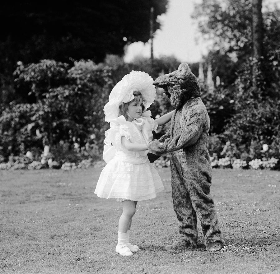 Square Photograph - Dance! Bear! Dance! by W G Phillips