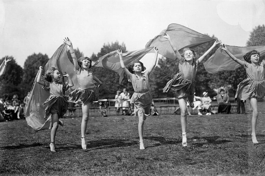 Child Photograph - Dance Display by Topical Press Agency