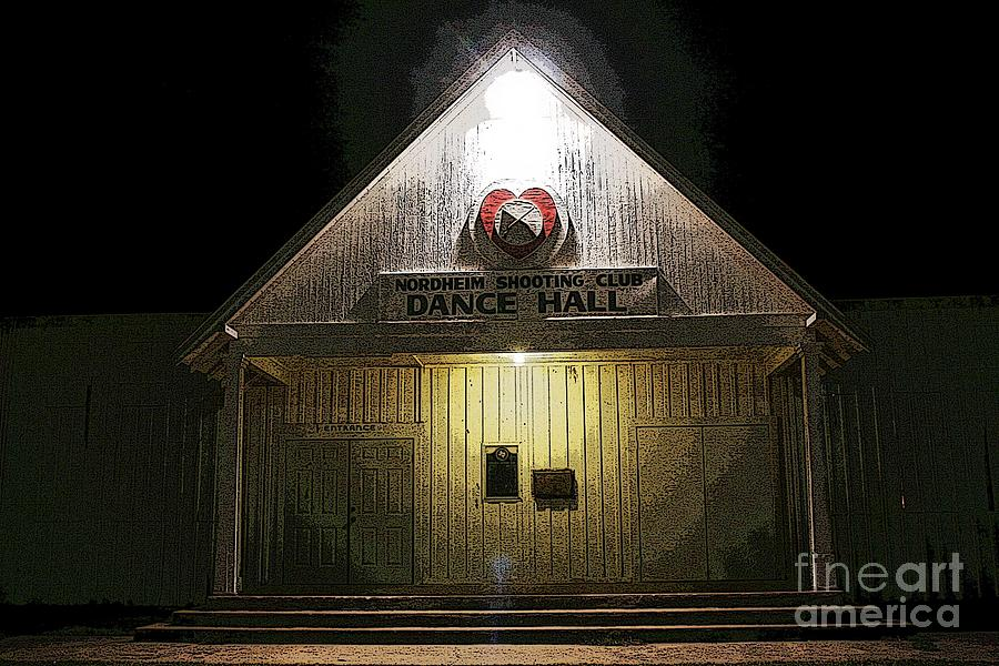 Dance Hall Nordheim Tx Photograph by David Carter