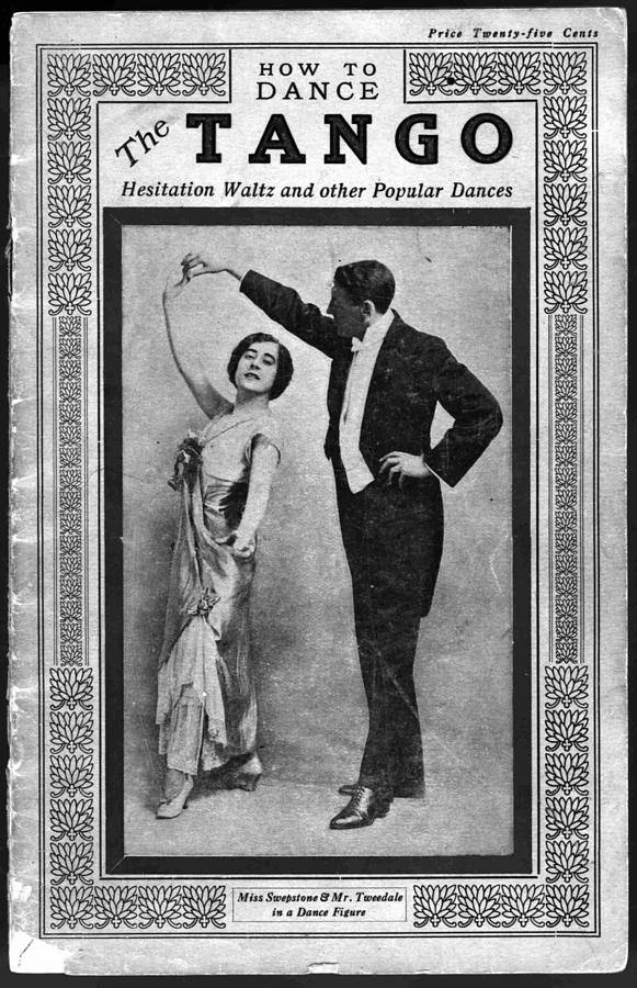 History Photograph - Dance Manual For The Tango, Hesitation by Everett