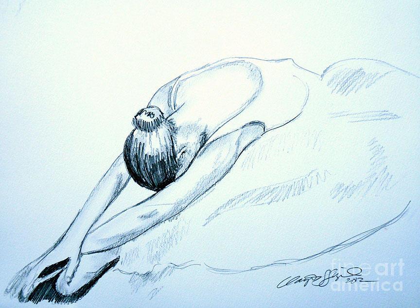 Dancer Drawing by Clayton Singleton