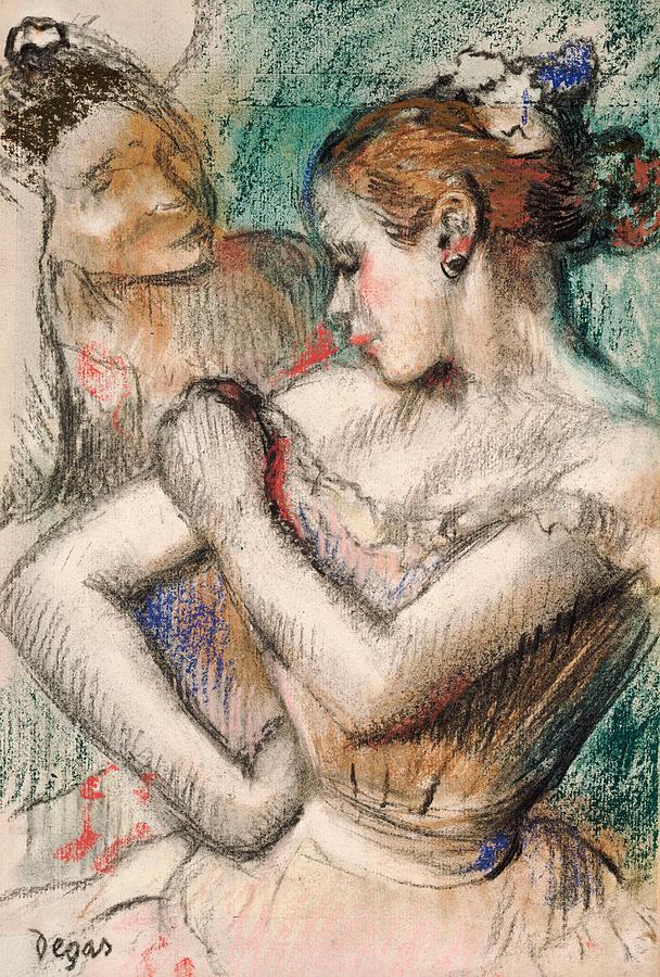 Dancer Pastel - Dancer by Edgar Degas