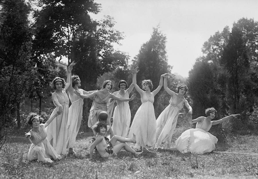 Historical Photograph - Dancers Of The National American Ballet by Everett