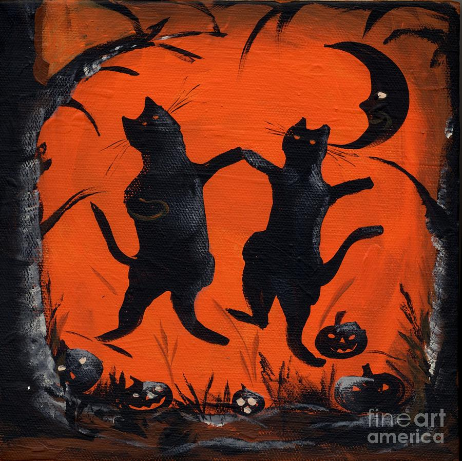 Halloween Canvas Paintings For Kids