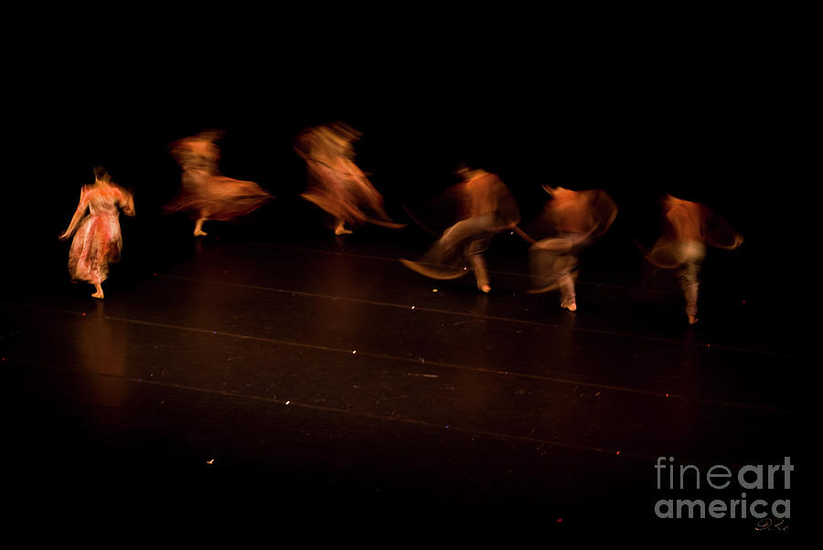 Dance Photograph - Dancing Ghosts by Diego Re