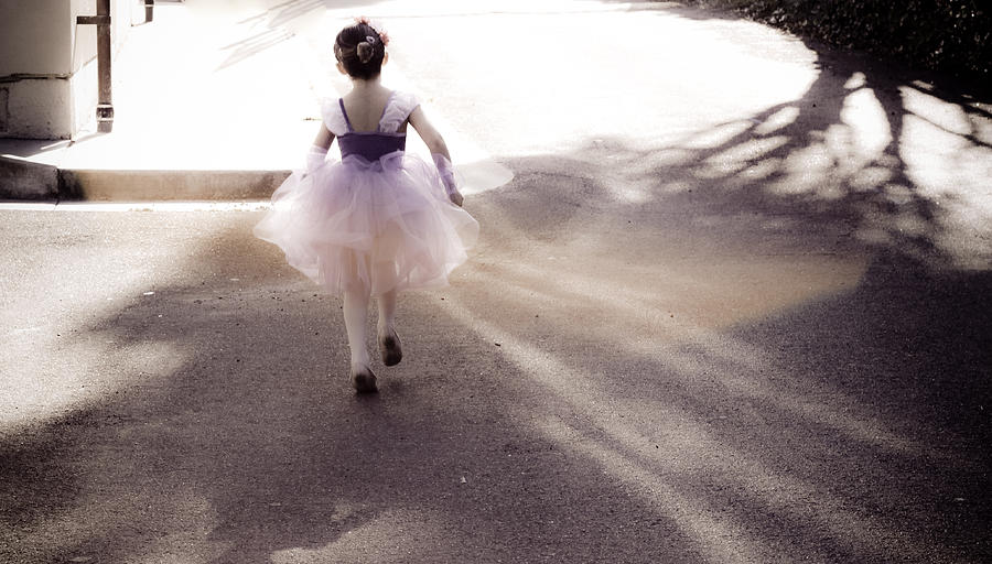Little Girl Photograph - Dancing In Dreamland  by Denice Breaux