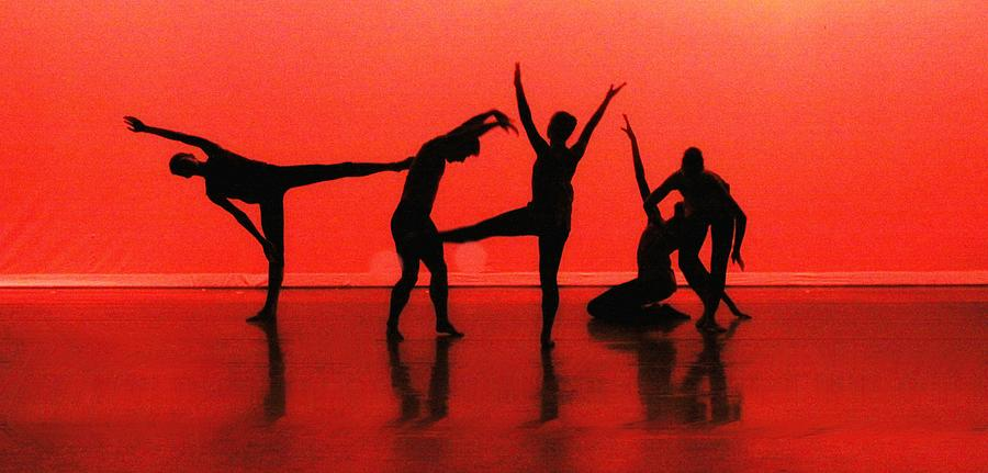 Dance Photograph - Dancing In Red by Kenneth Mucke