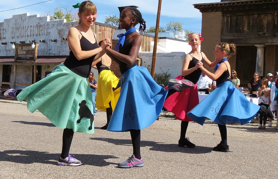 Poodle Skirts Photograph - Dancing In The Streets by Feva  Fotos