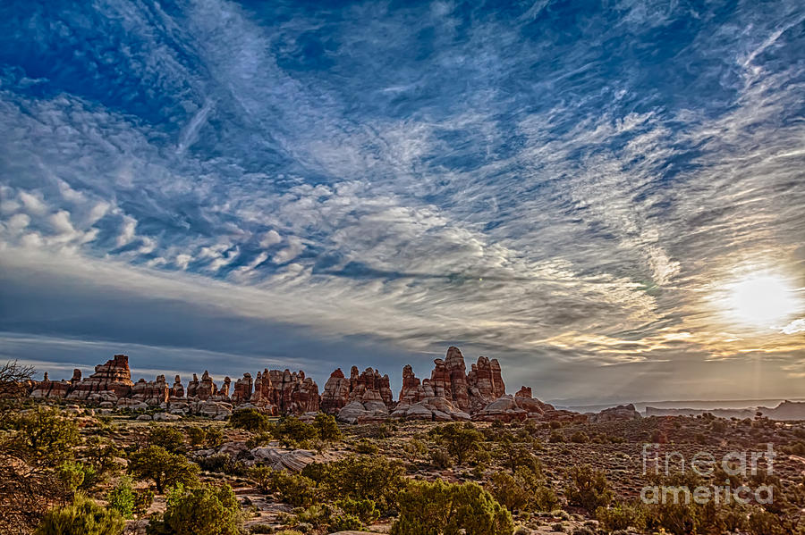 Landscape Photograph - Dancing Light And Clouds 3 by Scotts Scapes
