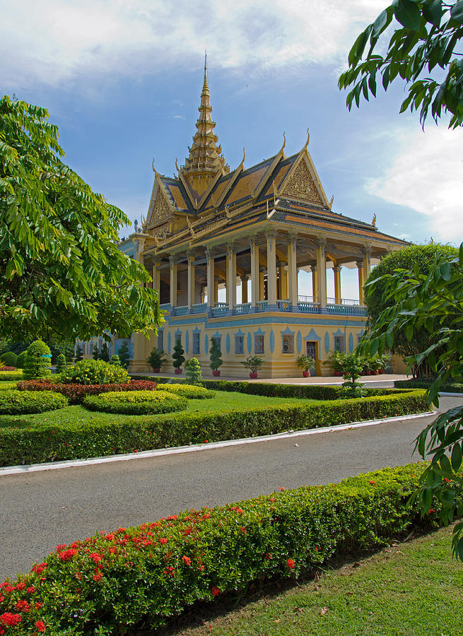 Cambodia Photograph - Dancing Pavilion by David Freuthal