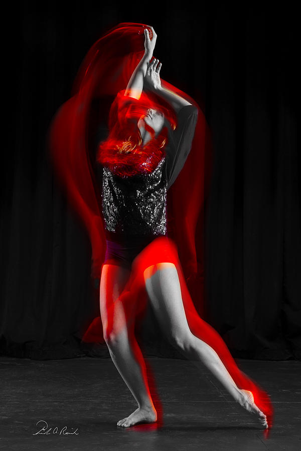 Dance Photograph - Dancing With Fire by Frederic A Reinecke
