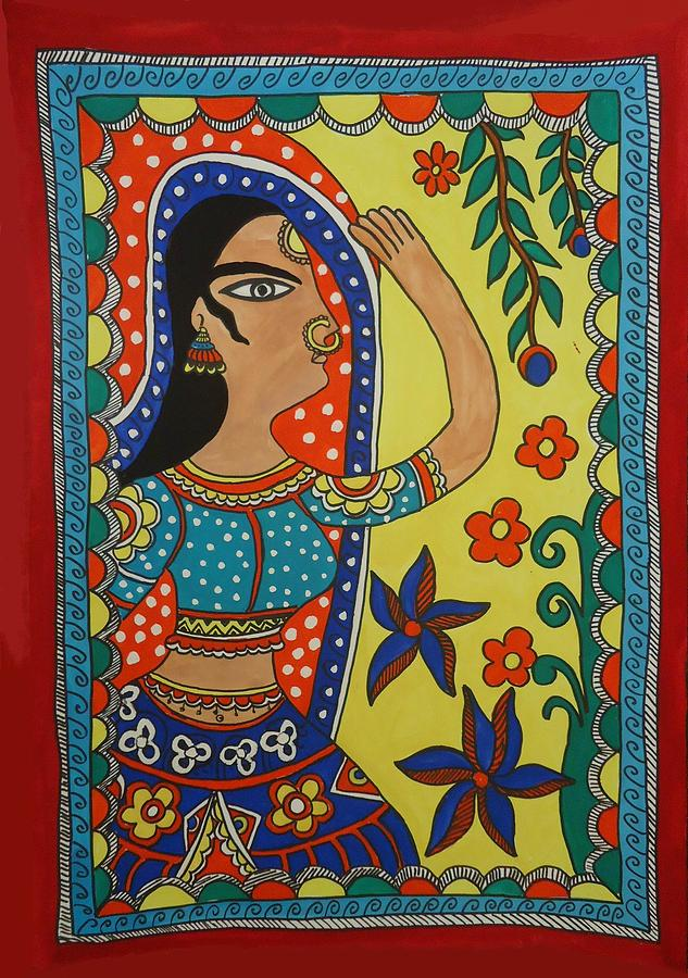 Kasana Painting - Dancing Woman by Shakhenabat Kasana