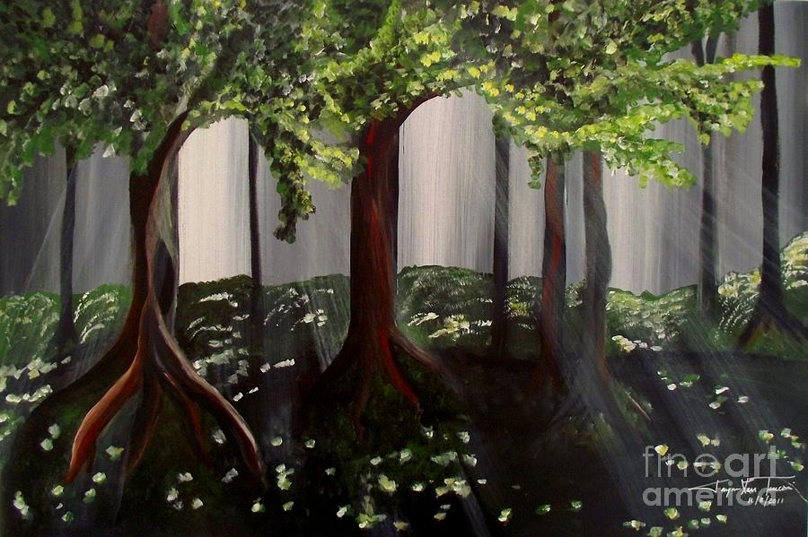 Dappled Forest 2 by Jayne Kerr