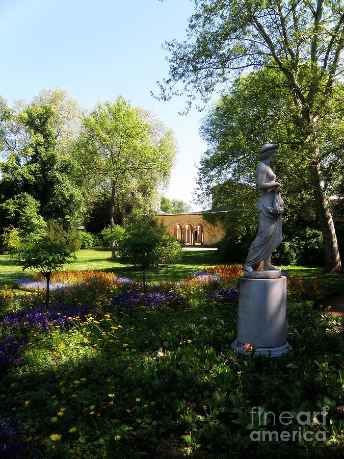 Architecture Photograph - Dappled Light. Sanssouci by Tanya  Searcy