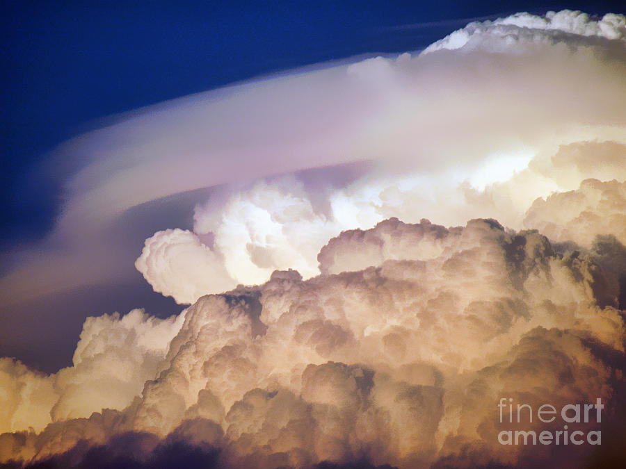 Clouds Photograph - Dark Clouds - 2 by Graham Taylor