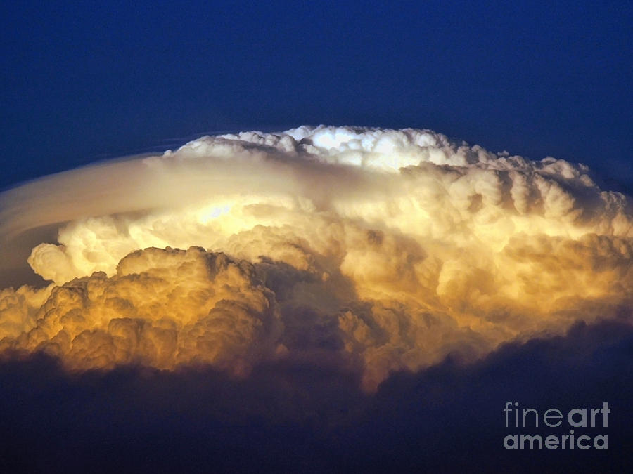 Clouds Photograph - Dark Clouds - 3 by Graham Taylor