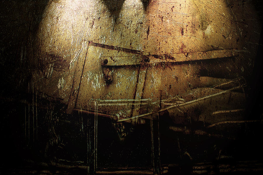Metal Digital Art - Dark Door by Janet Kearns