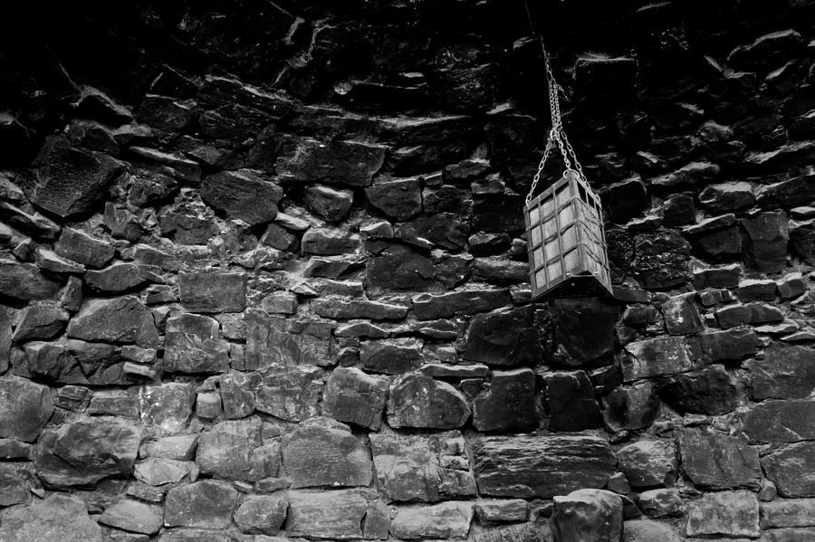 Dark Photograph - Dark Lantern by Adam Pender