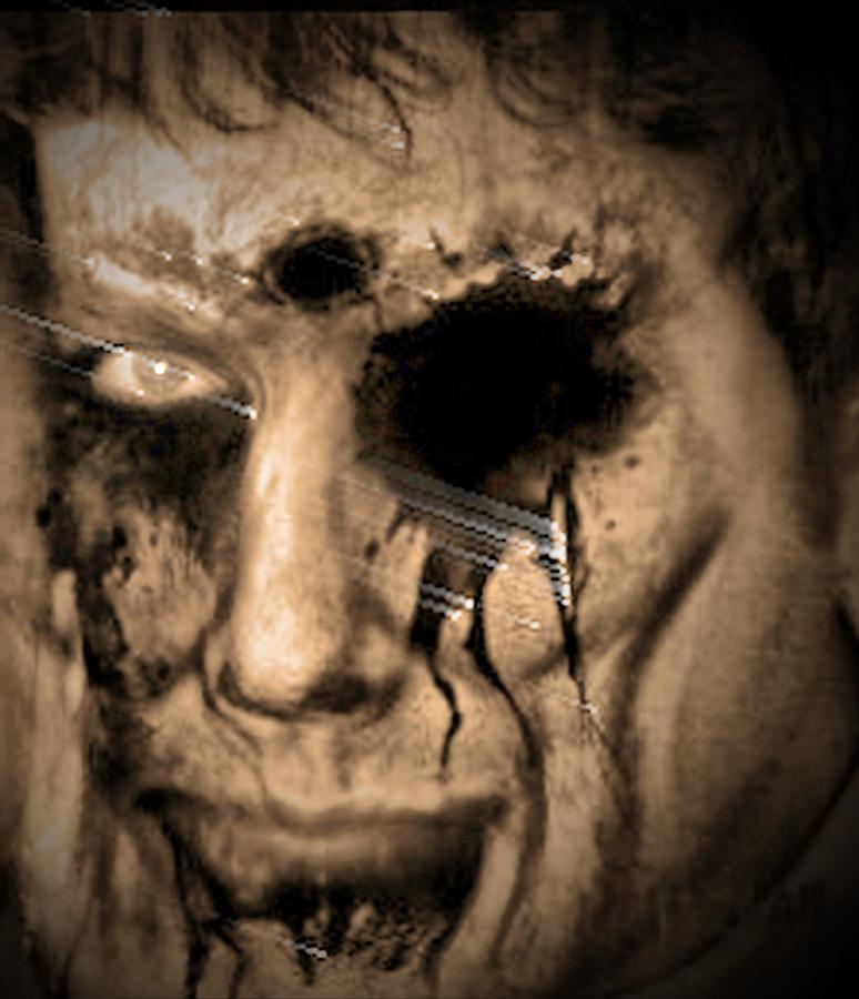 Portrait Digital Art - Dark Portrait by Beto Machado