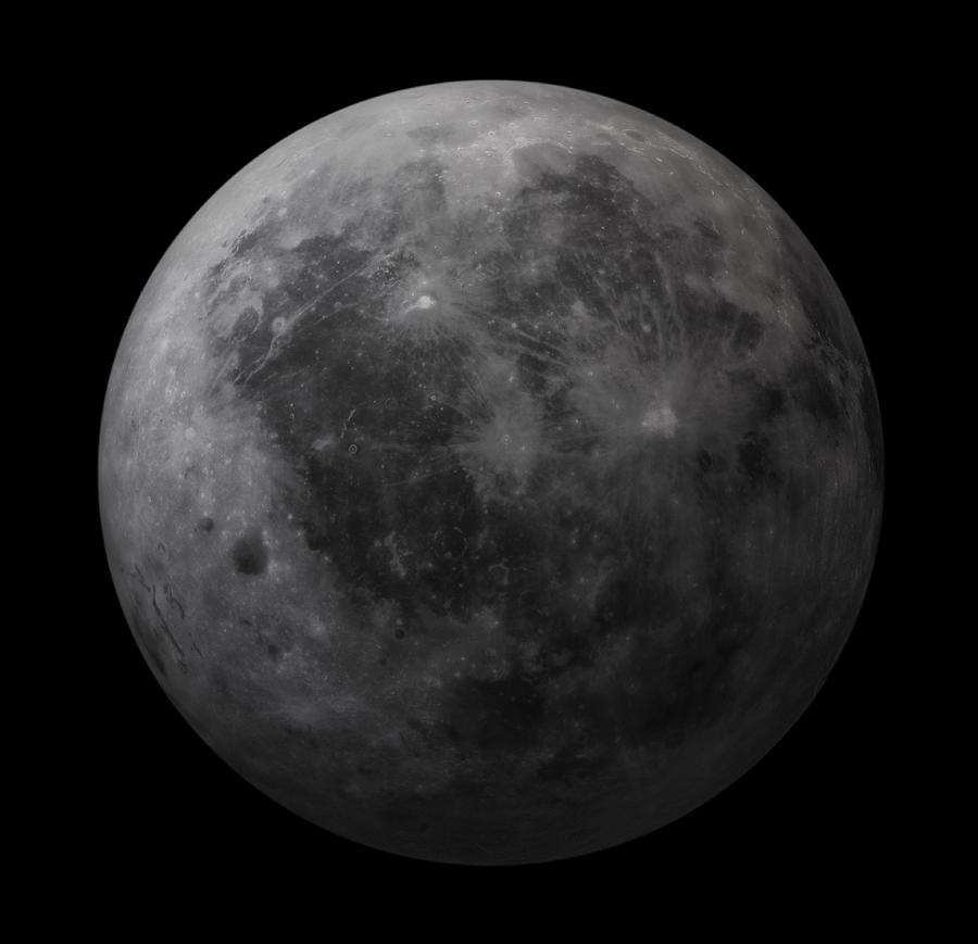 Dark Side Of The Moon, Artwork Digital Art by Andrzej Wojcicki