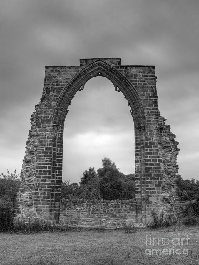 Arch Photograph - darley Abbey arch by Steev Stamford
