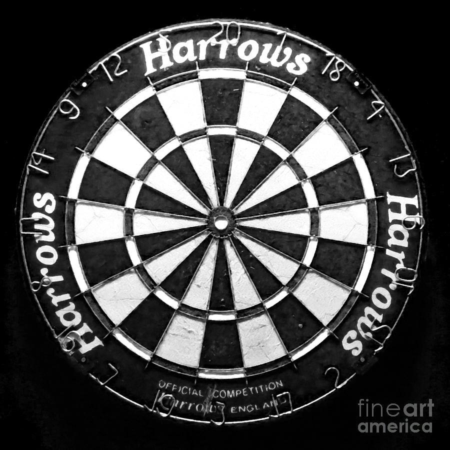 Dart Photograph - Dartboard by Patricia Januszkiewicz