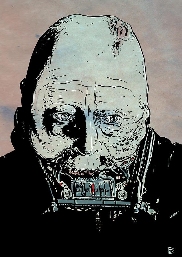 Darth Vader Drawing - Darth Vader Anakin Skywalker by Giuseppe Cristiano