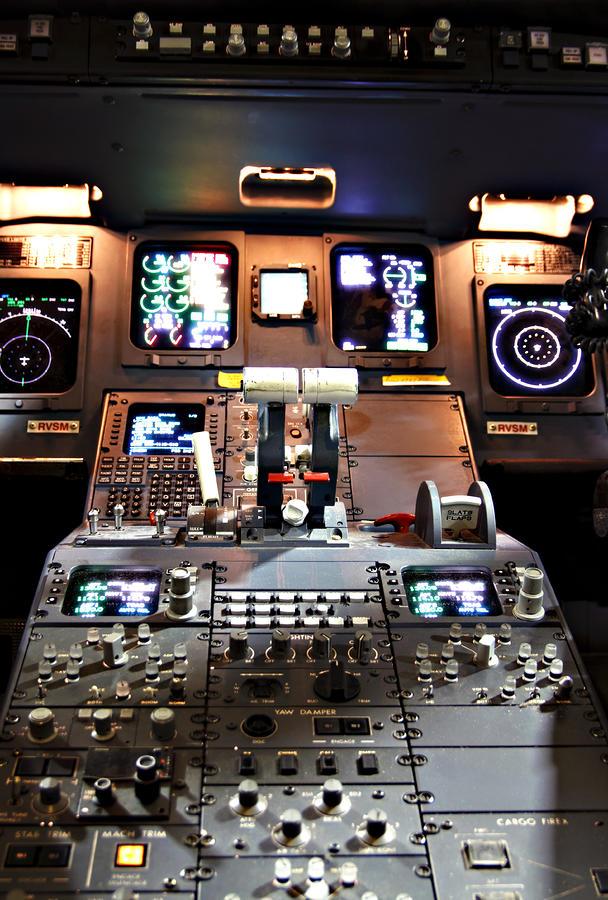 Dashboard Lights Photograph