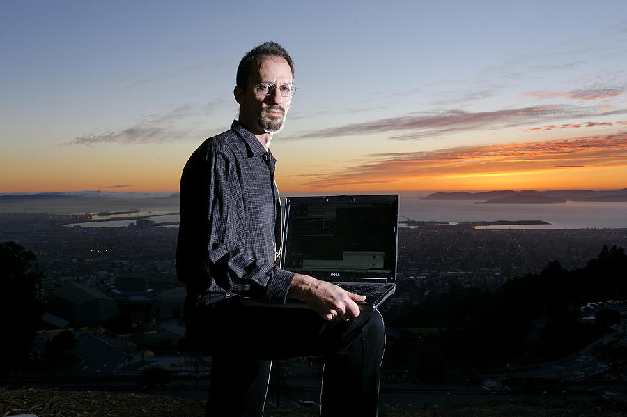 Computer Photograph - David P. Anderson, Us Computer Scientist by Volker Steger