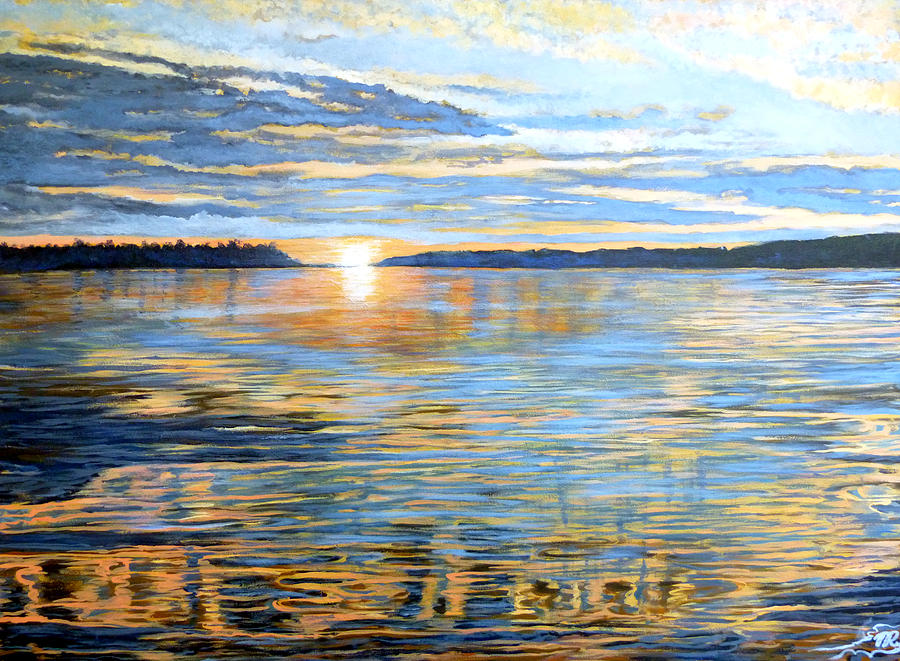 Canada Painting - Davidson Quebec by Tom Roderick