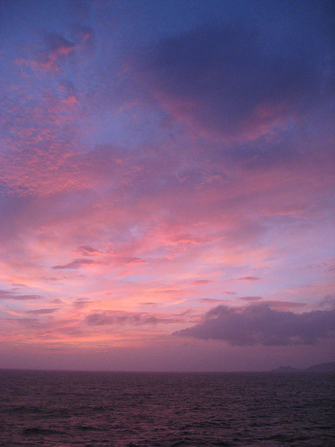 Nature Photograph - Dawn At The Isle Of Yakushima by Vladimir Abroskin