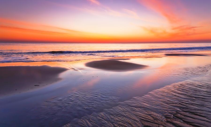 Dawn On Plum Island Photograph by Lisa Pelonzi