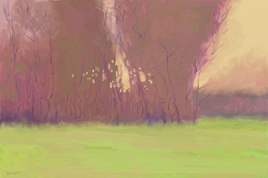 Dawn Painting - Dawn by Robert Bissett