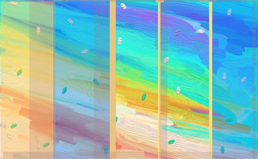 New Dawn Painting - Dawn Shines Through by Naomi Jacobs