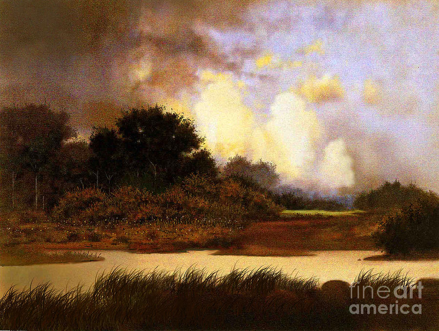 Landscape Painting - Dawn Sky by Robert Foster