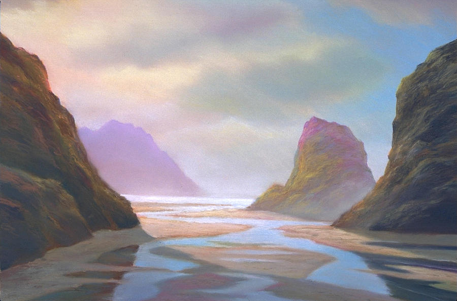 Landscape Painting - Day Of Reckoning by Michael Cook